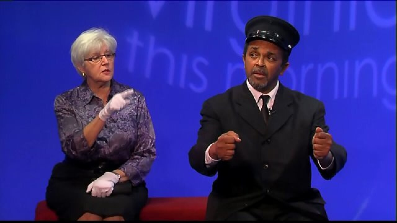 Enjoy a scene from Huguenot Community Players' latest offering, 'Driving Miss Daisy'