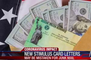 New stimulus card letters mistaken