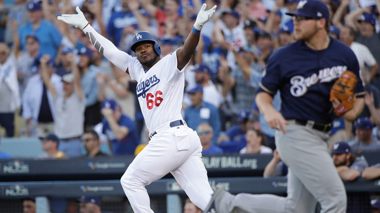 Dodgers take game 7, will play Red Sox in World Series