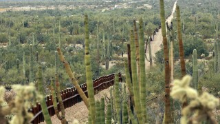 Border Wall Arizona Organ Pipe Cactus AP Photo