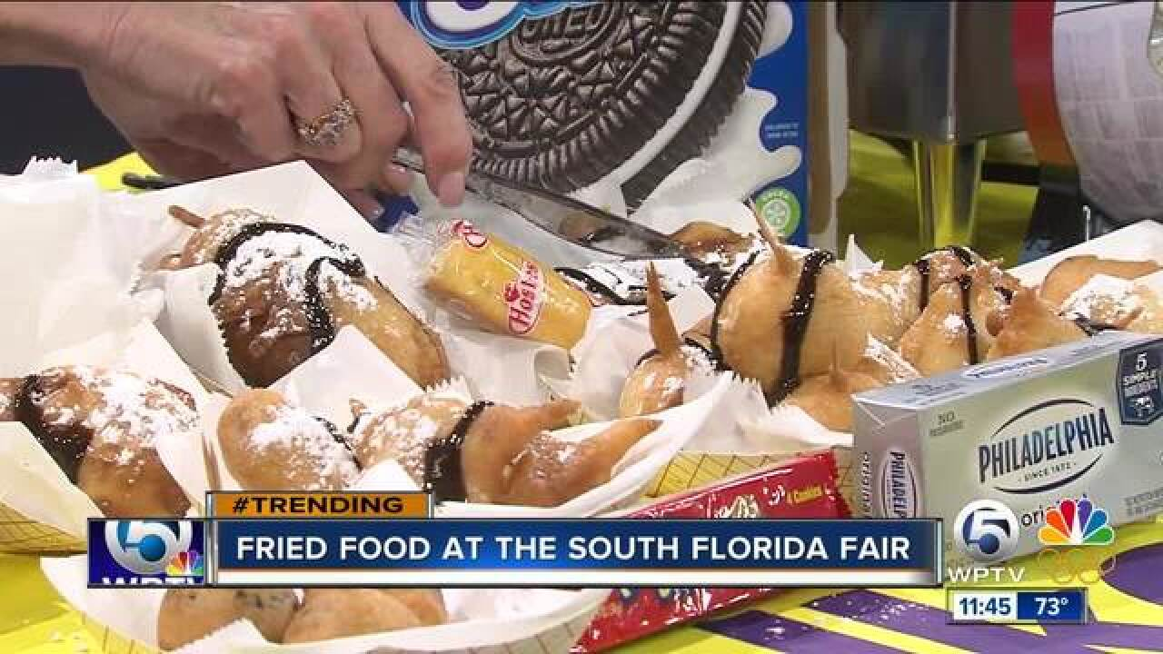Fried food frenzy at the South Florida Fair
