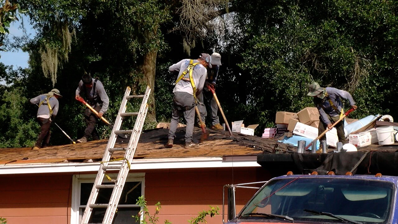National Program Helps Local Vet Get A New Roof