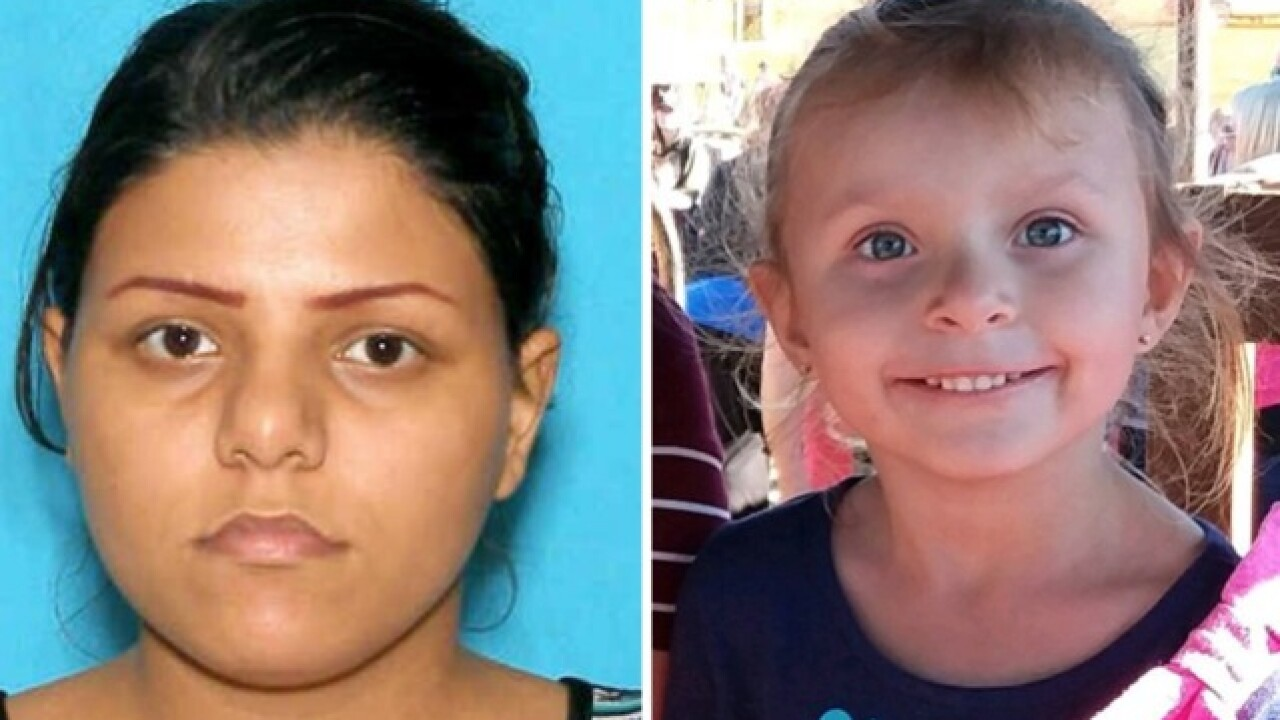 Amber Alert issued for 4-year-old girl, authorities looking 2005 Chevy Cobalt