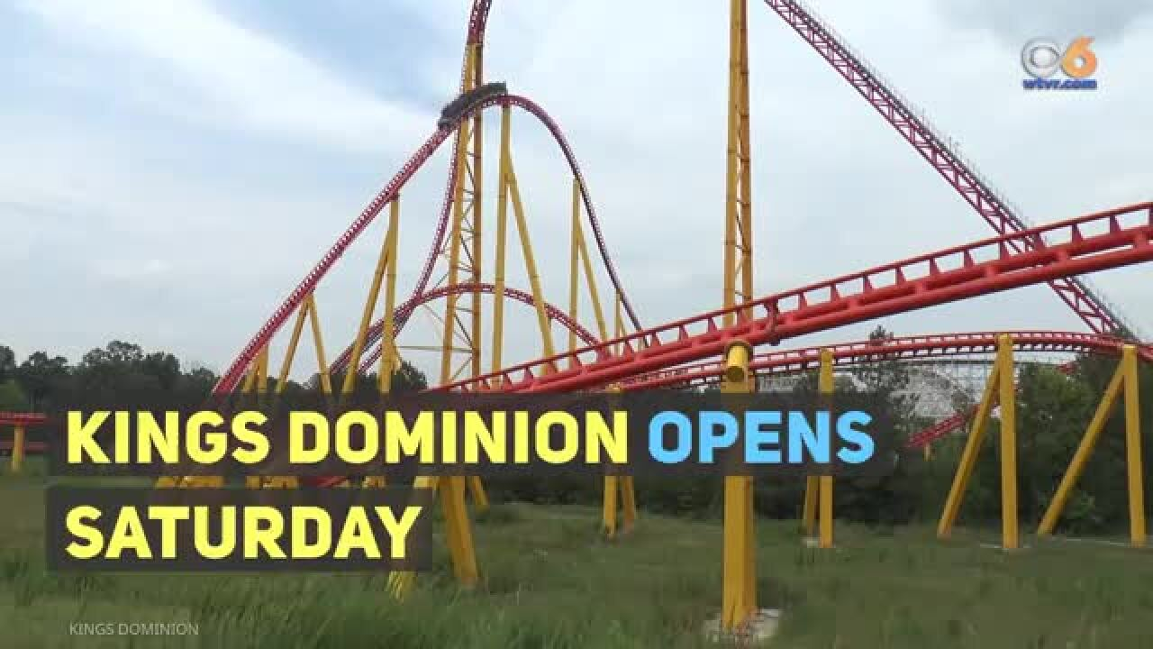 Kings Dominion opens Saturday: What's new thisyear?