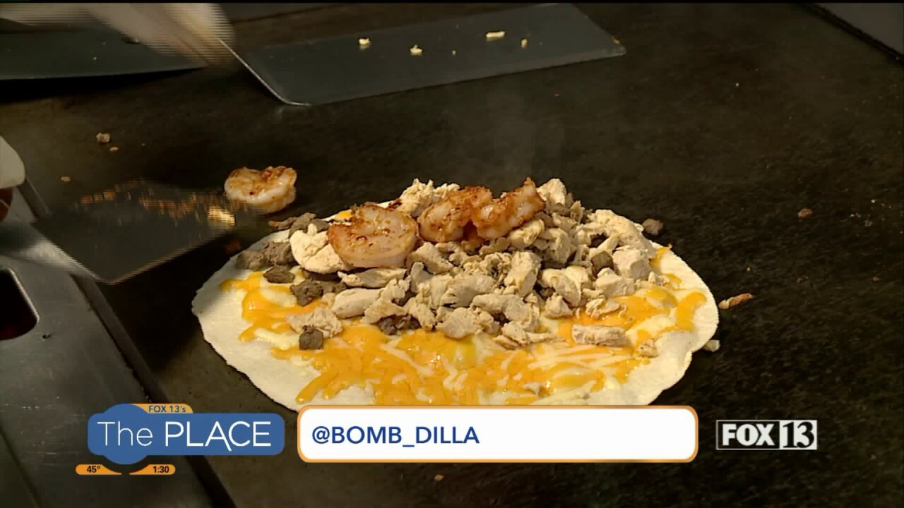 Meet Bomb Dilla, the food truck serving up all things cheesy