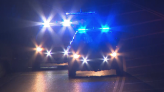 Murfreesboro Pike Armed Robber Pursuit Patrol Vehicle Crash Blue Lights Night