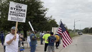 Kellogg's employees on strike at all U.S. cereal plants