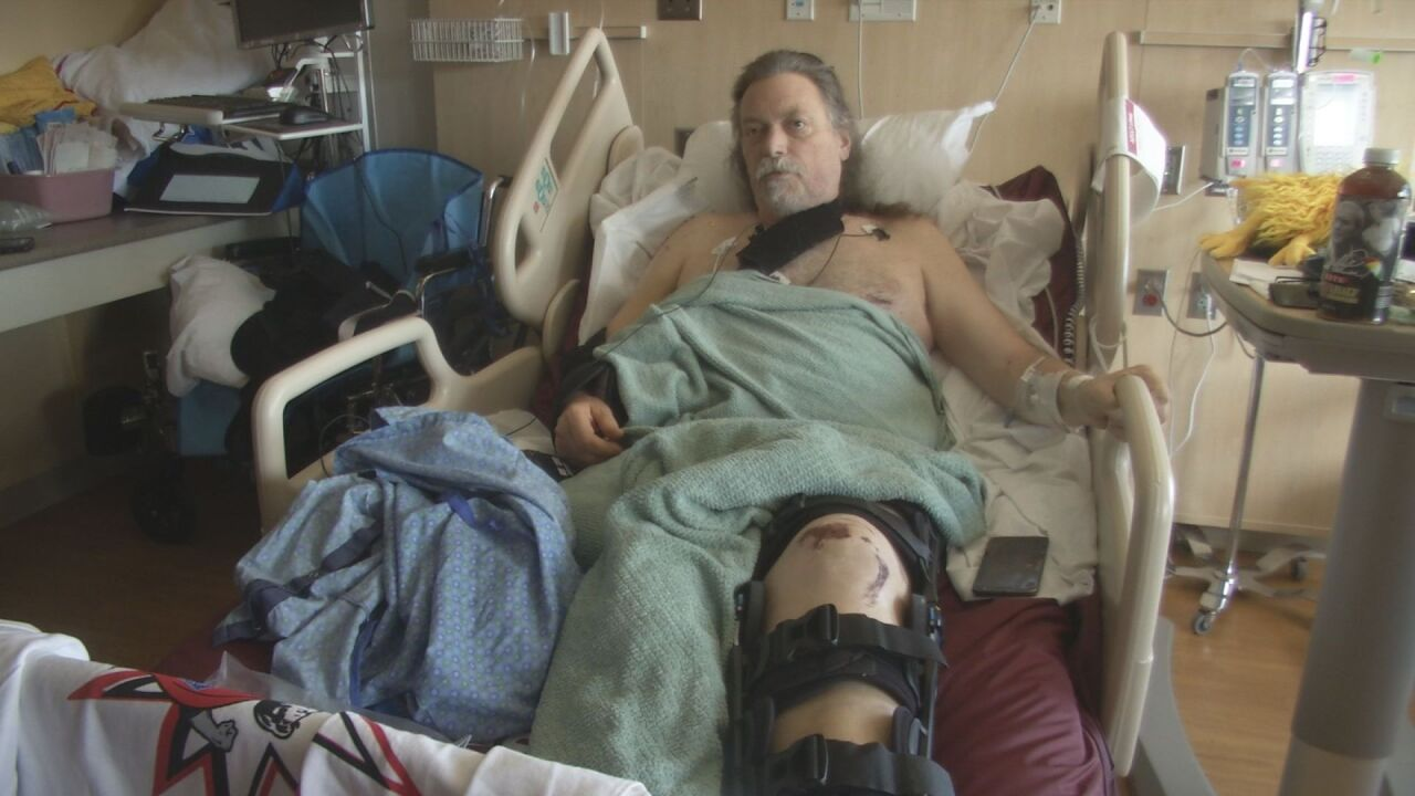 Man hit by suspected DUI driver speaks