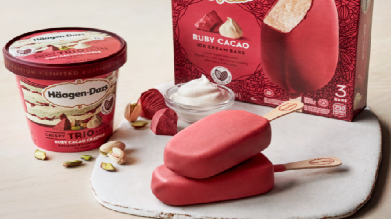This New Häagen-Dazs Ice Cream With Ruby Cacao Chocolate Is Perfect For Valentine's Day