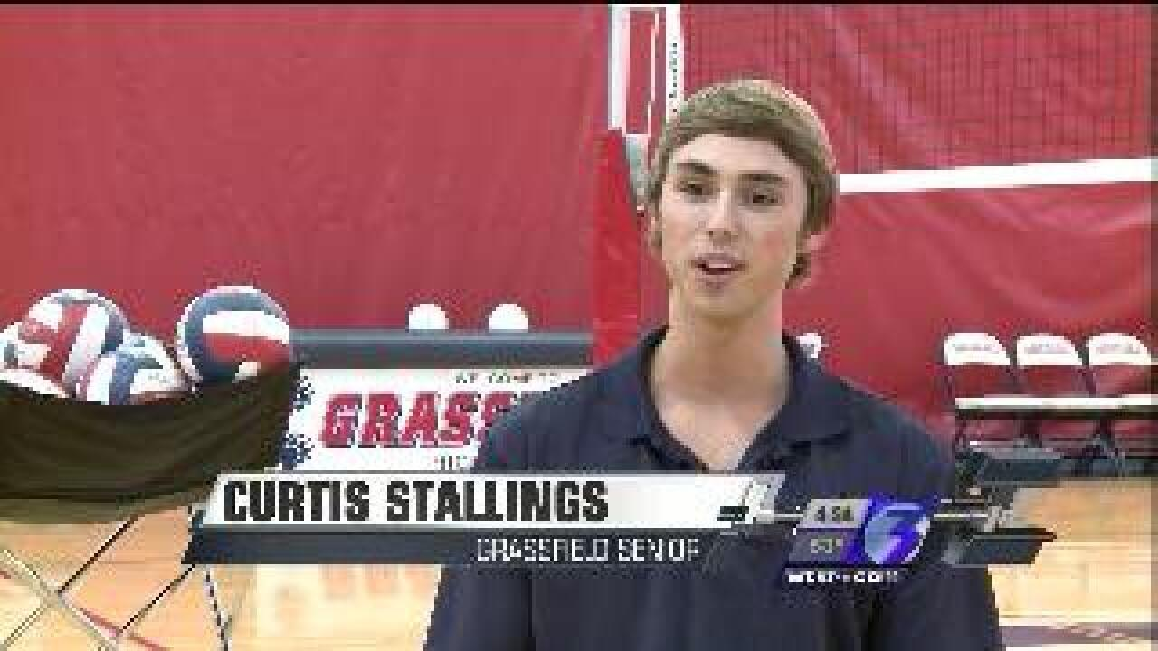 Student Athlete of the Week: Curtis Stallings