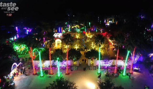 Largo Botanical Gardens Christmas Lights 2019 PHOTOS: Christmas lights at the Florida Botanical Gardens in Largo