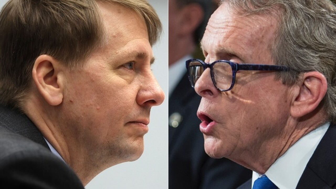 Republican Mike DeWine, Democrat Richard Cordray win party nominations in Ohio governor's race