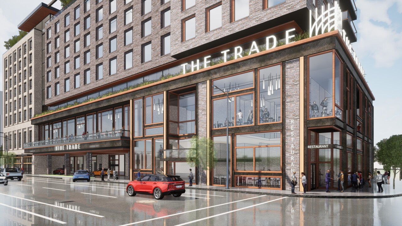 Rendering of The Trade Hotel