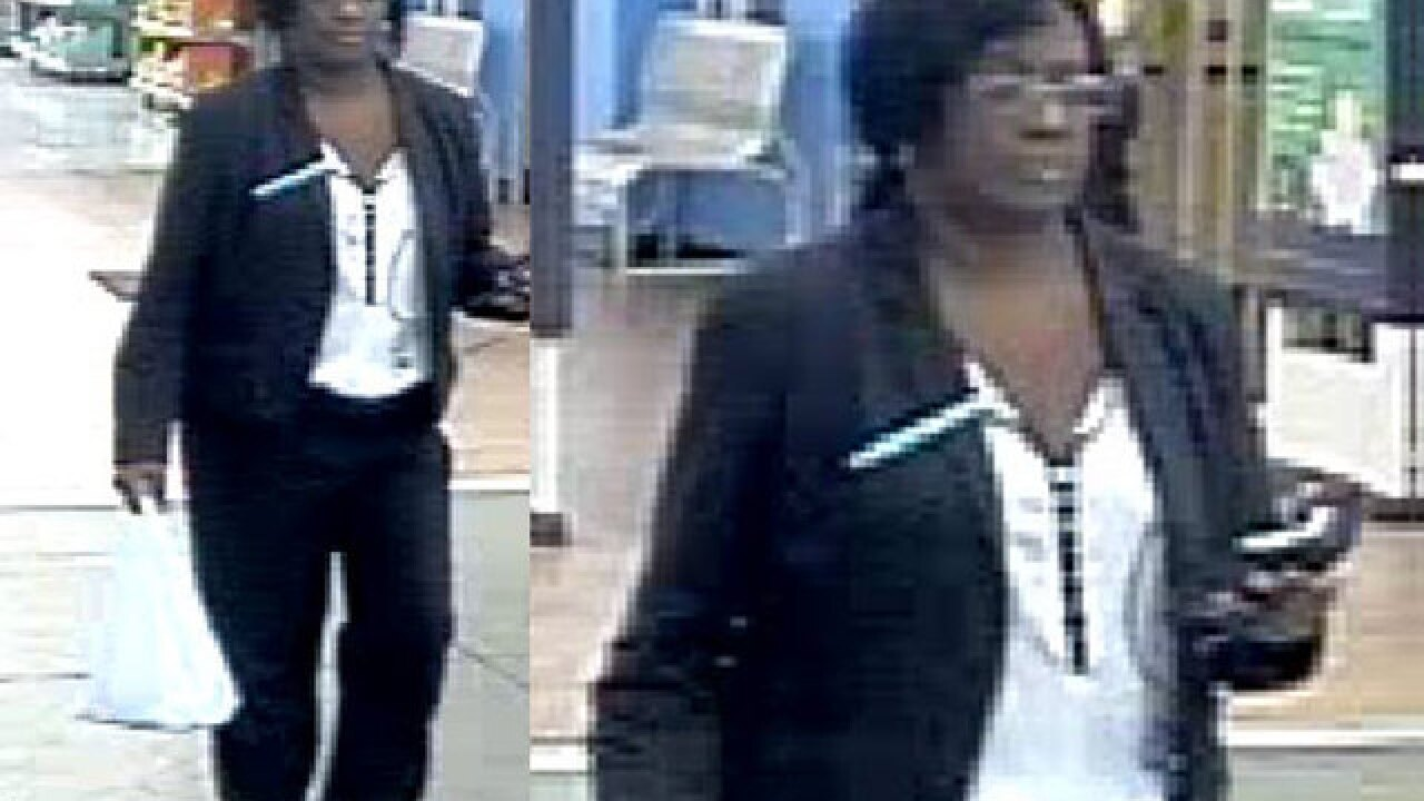 Woman wanted for using stolen credit card at Royal Palm Beach Walmart