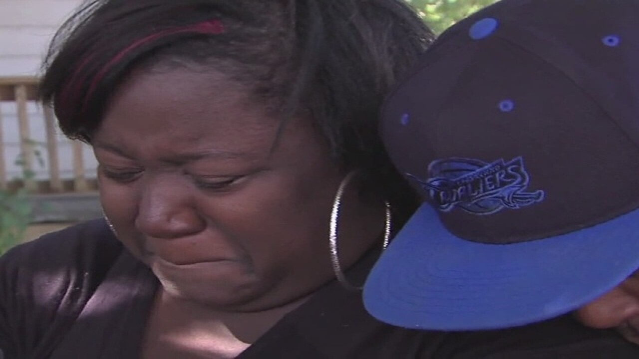 Mother of fallen child 'I know God has her'