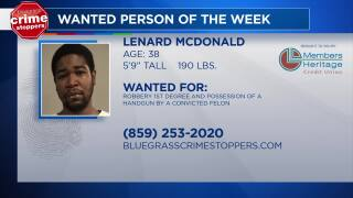 Crime Stoppers: Most Wanted Person Of The Week: November 7, 2018