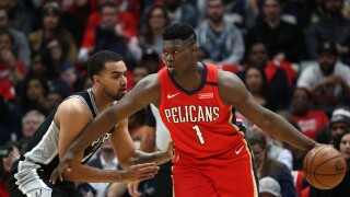 Zion Williamson scores 22 in NBA debut; Spurs beat Pelicans 121-117