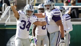K-State's Dalton Risner named Big 12 Offensive Lineman of the Year