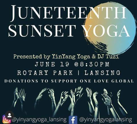 Juneteenth Yoga