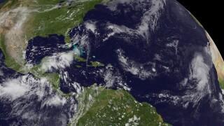 Hurricane Humberto Forms In Atlantic