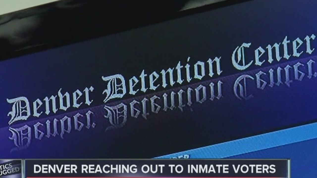 Program registering eligible inmates to vote