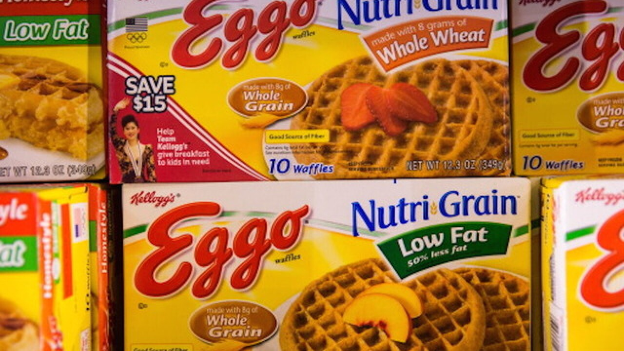 Kellogg recalls Eggo waffles due to listeria concerns