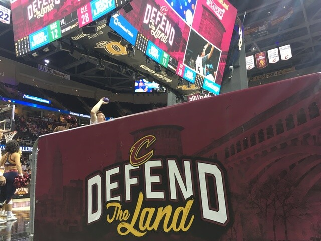 PHOTOS: The people behind the showstopping entertainment for the Cleveland Cavaliers games
