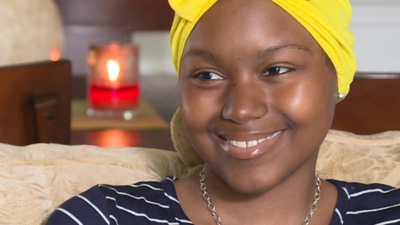 Warrior Princess battling brain cancer achieves 'dream cometrue'