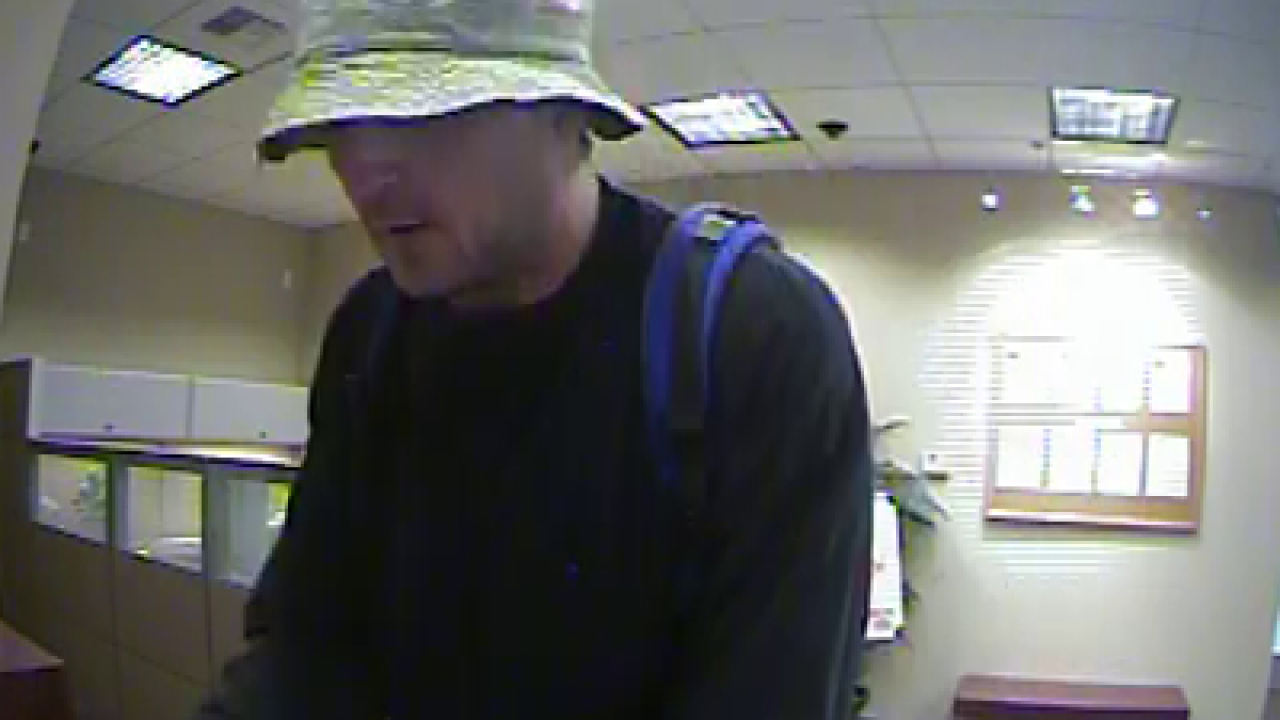 Sandy bank robbery suspect caught in Nev.