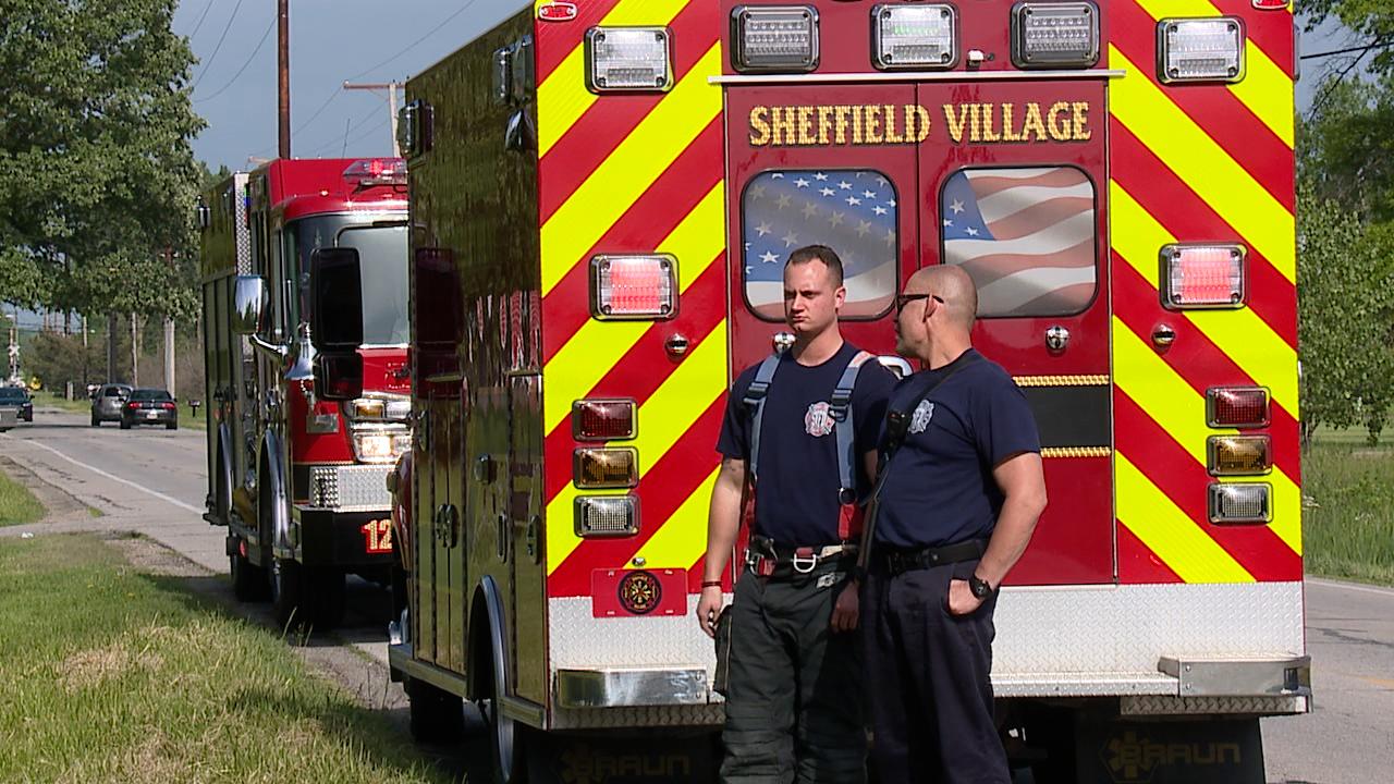 Sheffield Village firefighters