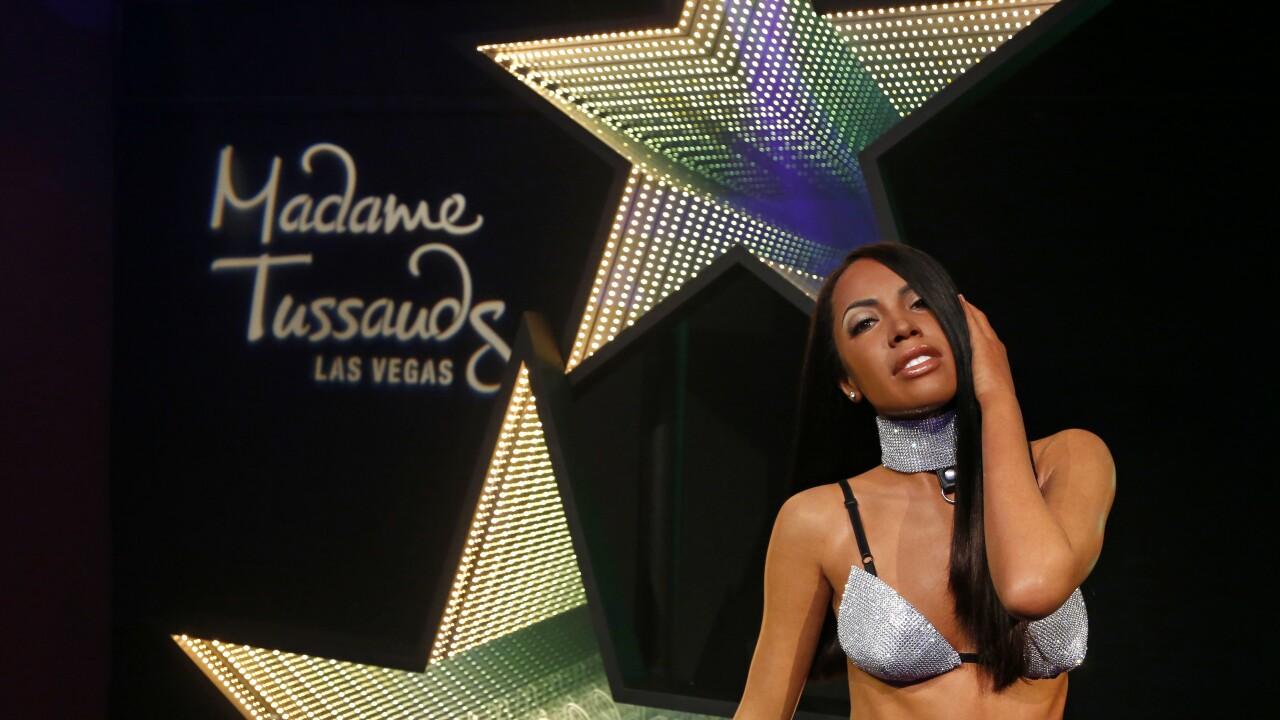 Madame Tussauds Las Vegas Unveils Aaliyah Figure Alongside Brother Rashad Haughton