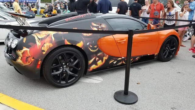 Check out these wrapped exotic supercars