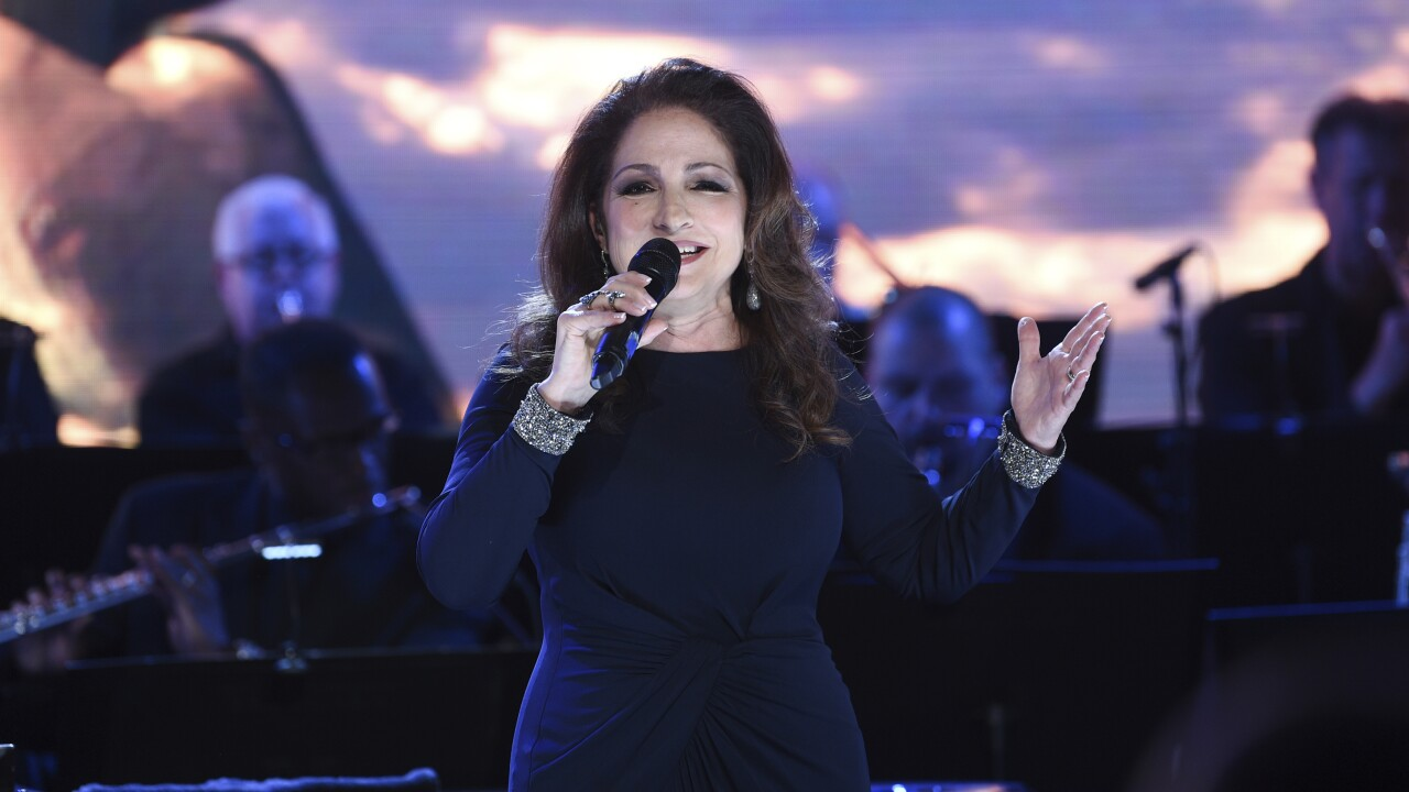 Singer Gloria Estefan says she tested positive for coronavirus