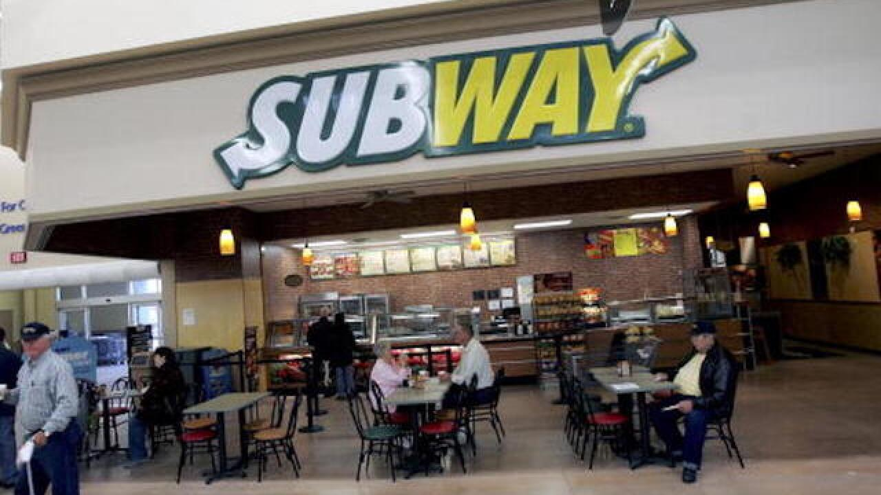 Subway's store count shrinks for first time in company's history