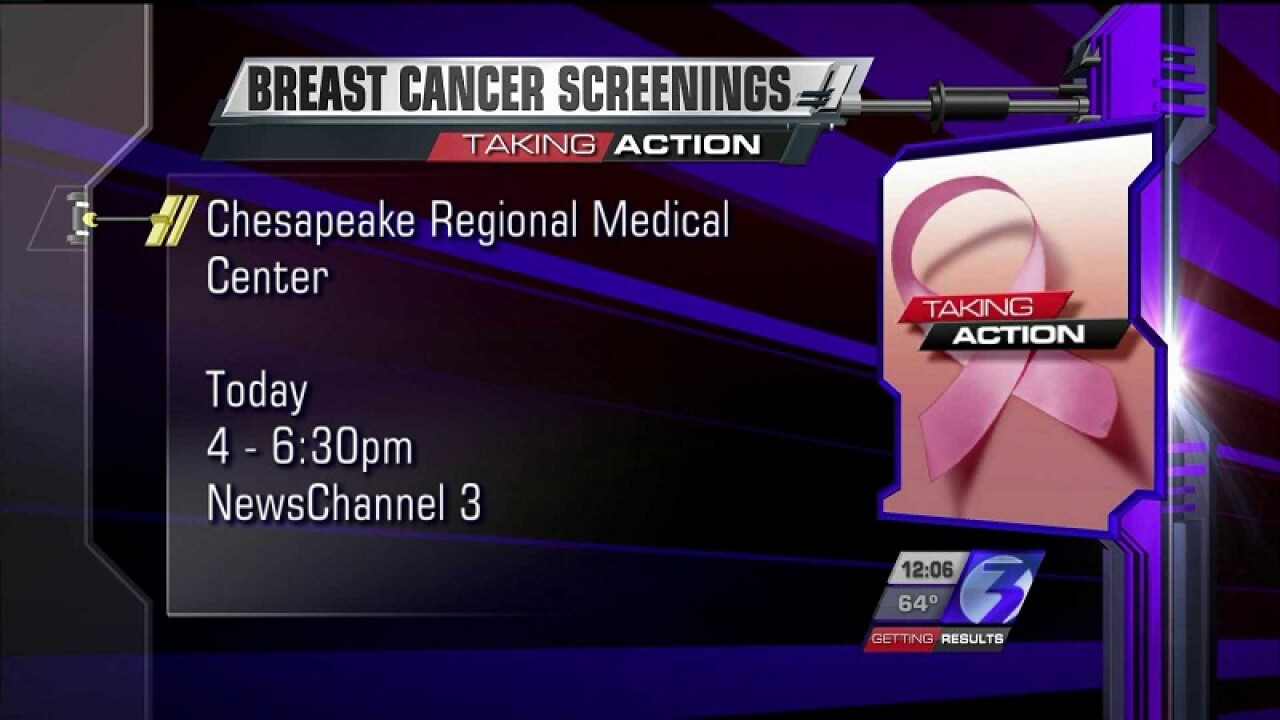 Taking Action Help Line opens today to help women get free breast cancer screenings