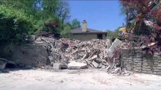 North Avondale landslide demolished house