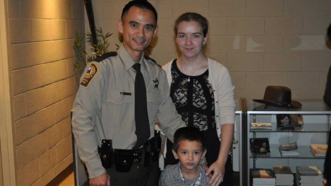 Deputy in Virginia serves country andcounty