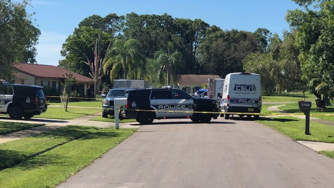 Shooting death investigation in North Port