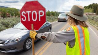 Yellowstone National Park announces traffic safety checkpoints