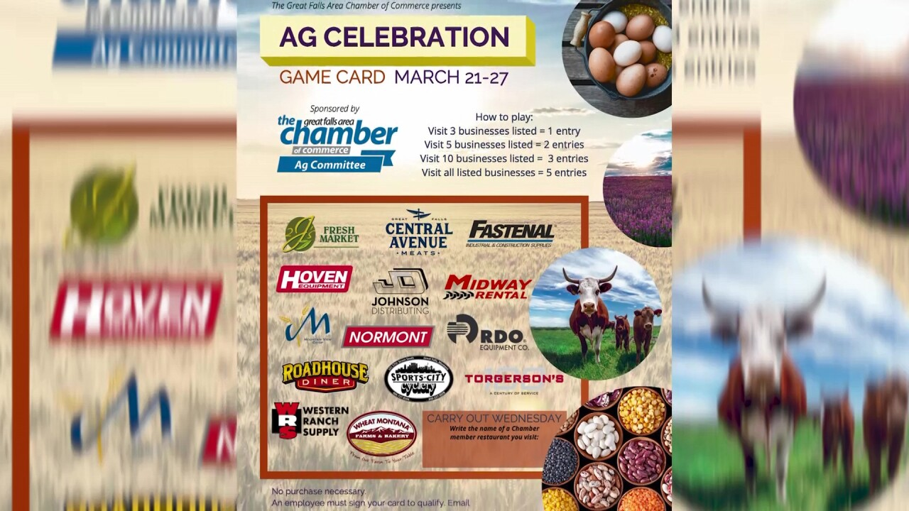 Great Falls will host National Ag Appreciation Week celebration