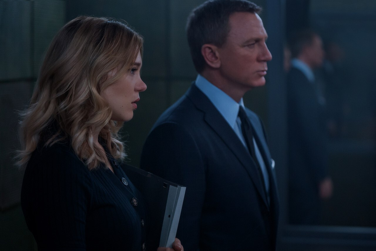 Daniel Craig and Lea Seydoux in 'No Time to Die'