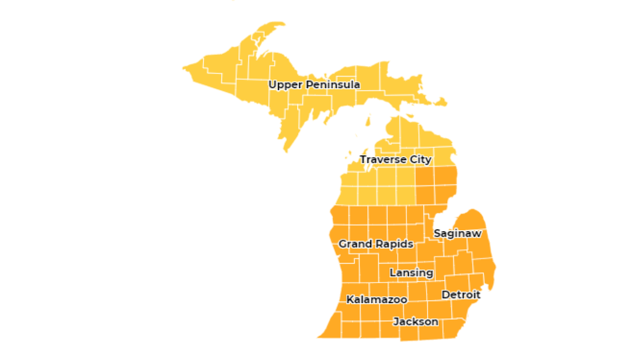 State Launches Mi Safe Start Map