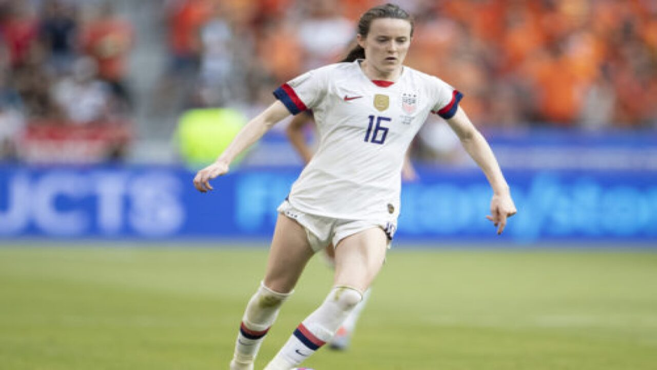 This Soccer Player Who Helped The U.S. Win The World Cup Once Dressed Up As Her 'hero' Mia Hamm For A School Project