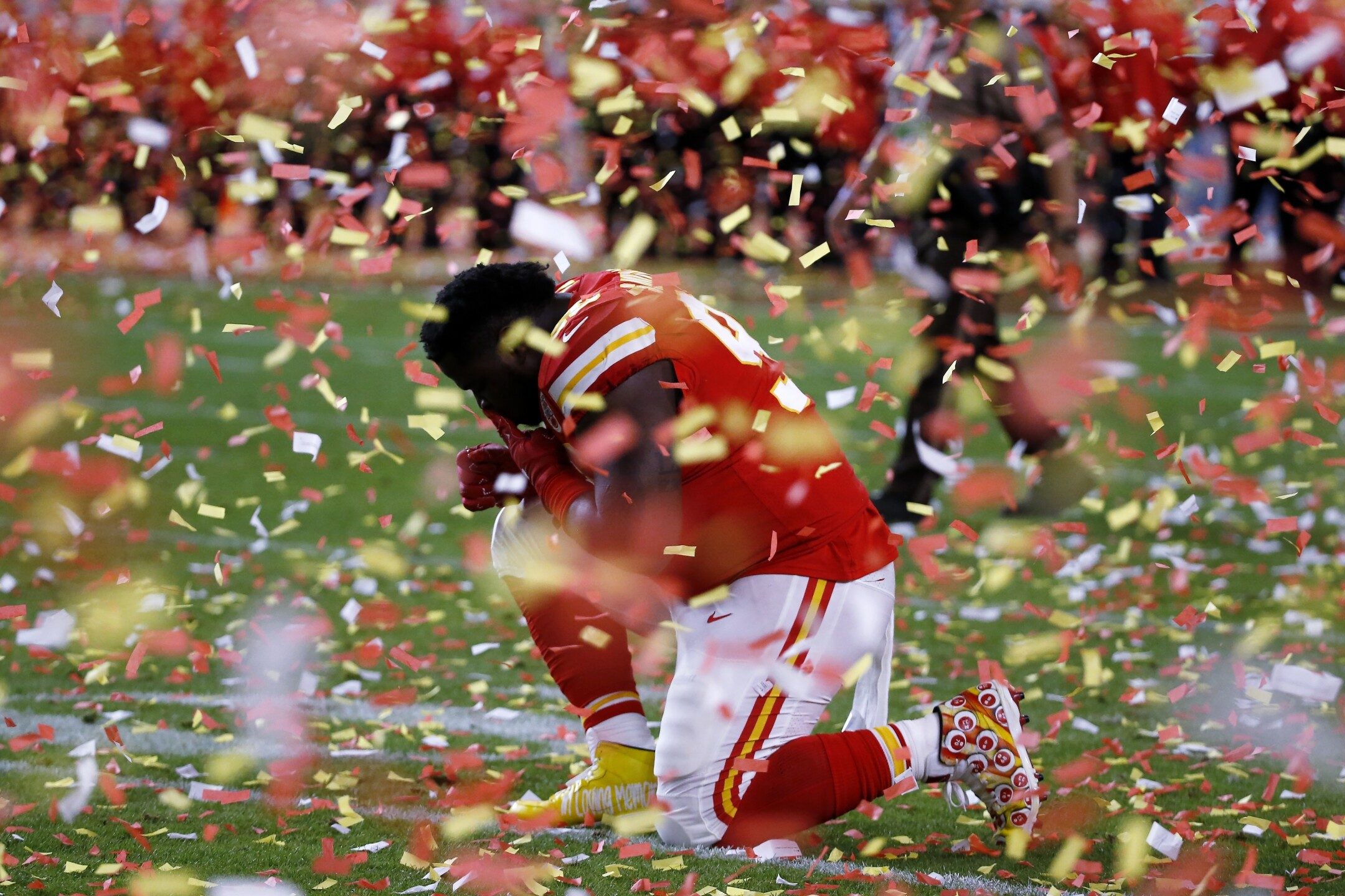 PHOTOS: Chiefs celebrate first Super Bowl title in 50 years