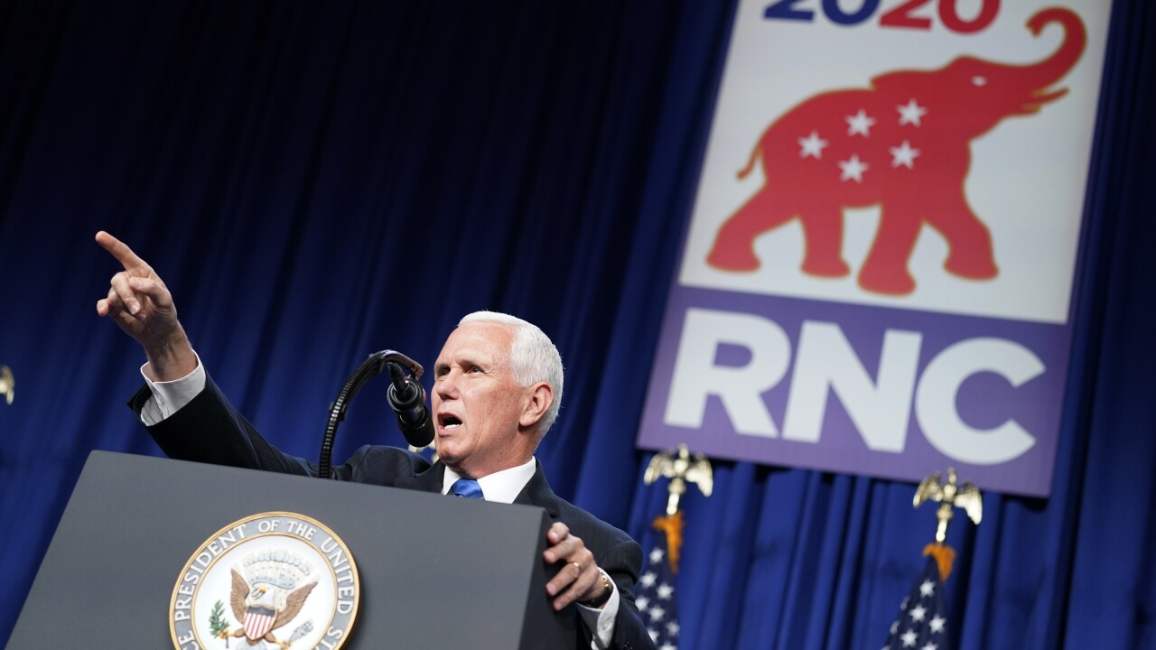 Night 3 of the Republican National Convention to feature VP Pence
