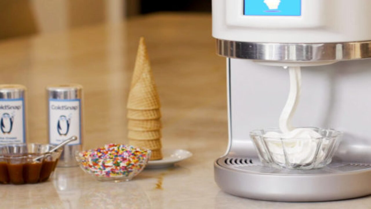 New Appliance Churns Out Homemade Ice Cream In 2 Minutes