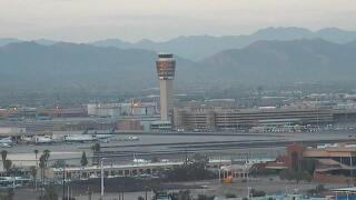PD: Suspect damages equipment at Sky Harbor