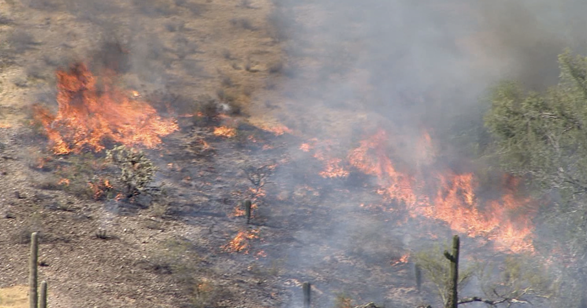 Dove Fire burning in NW Valley grows to 100 acres