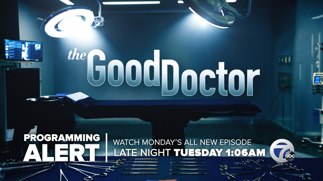 Programming Alert: DWS Good Doc Tuesday