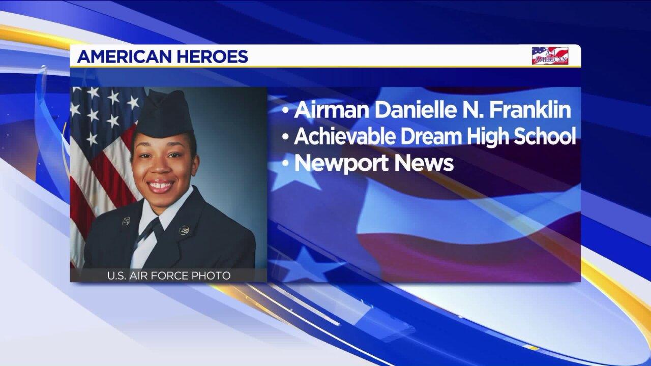 American Heroes: Danielle N.Franklin
